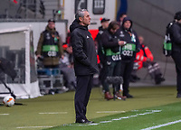 Trainer Marcel Koller (FC Basel) - 12.03.2020: Eintracht Frankfurt vs. FC Basel, UEFA Europa League, Achtelfinale, Commerzbank Arena<br /> DISCLAIMER: DFL regulations prohibit any use of photographs as image sequences and/or quasi-video.
