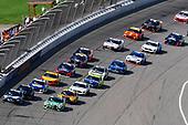 #19: Martin Truex Jr., Joe Gibbs Racing, Toyota Camry Auto-Owners Insurance/Martin Truex Jr. 500th Start and #18: Kyle Busch, Joe Gibbs Racing, Toyota Camry Interstate Batteries