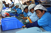 Production at Maped Office Supplies MFG. Co., Ltd, Kunshan (near Shanghai), China. Maped is  one of the foreign invested factories produce stationary in China..21Apr 2005