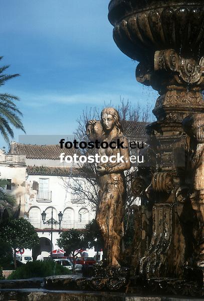 Fountain of the nymphs<br /> <br /> Fuente de las Ninfas<br /> <br /> Nymphenbrunnen<br /> <br /> Original: 35 mm slide transparency