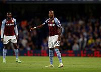 22nd September 2021; Stamford Bridge, Chelsea, London, England; EFL Cup football, Chelsea versus Aston Villa; Ashley Young of Aston Villa