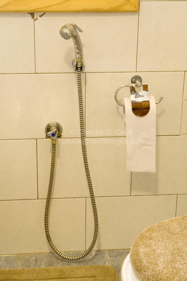 Libya - Water Hose for Arab Toilet