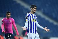3rd January 2021; Dragao Stadium, Porto, Portugal; Portuguese Championship 2020/2021, FC Porto versus Moreirense; Diogo Leite of FC Porto appeals to the referee