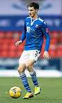 St Johnstone v Dundee United…24.10.20   McDiarmid Park SPFL<br />Scott Tanser<br />Picture by Graeme Hart.<br />Copyright Perthshire Picture Agency<br />Tel: 01738 623350  Mobile: 07990 594431
