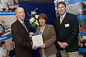24/06/2004   Copyright Pic: James Stewart.File Name : jspa07_health_gilmartin.GAIL MCCALLUM AND PAT GILMARTIN  RECEIVE THEIR AWARD FROM HEALTH MINISTER MALCOLM CHISHOLM AT THE 2ND NATIONAL ALLIED HEALTH PROFESSIONS CONFERENCE HELD AT THE INCHYRA GRANGE HOTEL, POLMONT......Payments to :.James Stewart Photo Agency 19 Carronlea Drive, Falkirk. FK2 8DN      Vat Reg No. 607 6932 25.Office     : +44 (0)1324 570906     .Mobile  : +44 (0)7721 416997.Fax         :  +44 (0)1324 570906.E-mail  :  jim@jspa.co.uk.If you require further information then contact Jim Stewart on any of the numbers above.........