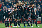 Bayer 04 Leverkusen's players during Champions League 2014/2015 match.March 16,2015. (ALTERPHOTOS/Acero)