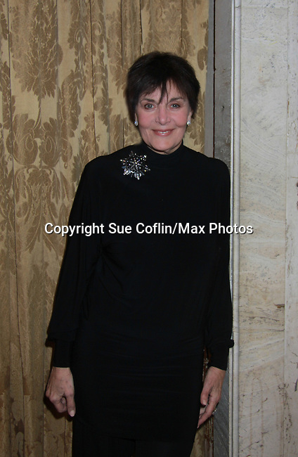 Linda Dano comes to see Still Sassy on October 30, 2011 at Feinstein's Loews Regency, New York City, New York. (Photo by Sue Coflin/Max Photos)