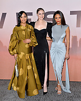 """LOS ANGELES, CA: 05, 2020: Tessa Thompson, Evan Rachel Wood & Thandie Newton at the season 3 premiere of HBO's """"Westworld"""" at the TCL Chinese Theatre.<br /> Picture: Paul Smith/Featureflash"""