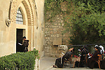 The Church of the Flagellation at the Via Dolorosa