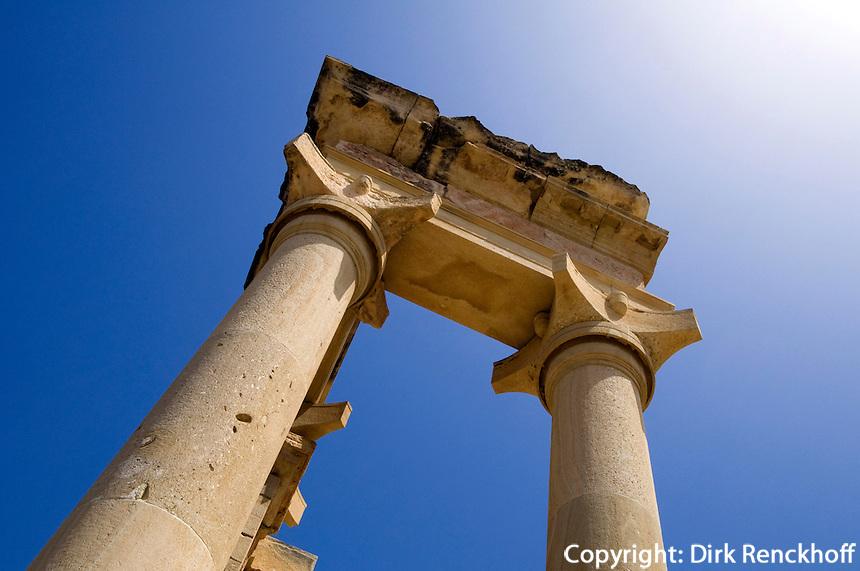 Tempel des Apollo Hylates in Kourion, Zypern (Süd)