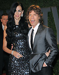 Mick Jagger at The 2009 Vanity Fair Oscar Party held at The Sunset Tower Hotel in West Hollywood, California on February 22,2009                                                                                      Copyright 2009 RockinExposures / NYDN