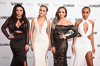 Little Mix<br /> arrives for the Glamour Women of the Year Awards 2016, Berkley Square, London.<br /> <br /> <br /> ©Ash Knotek  D3130  07/06/2016