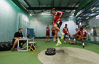 Pictured: Chico Flores. Thursday 03 July 2014<br />