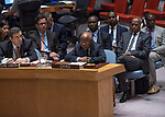 SC on Peace and security in Africa