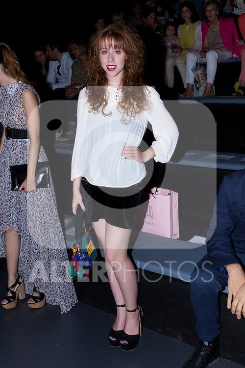 03.09.2012. Celebrities attending the Sita Mur fashion show during the Mercedes-Benz Fashion Week Madrid Spring/Summer 2013 at Ifema.  (Alterphotos/Marta Gonzalez)