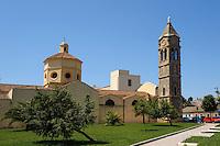Kirche Madonna del Rimedio (19.Jh.) bei Oristano, Provinz Oristano, West - Sardinien, Italien