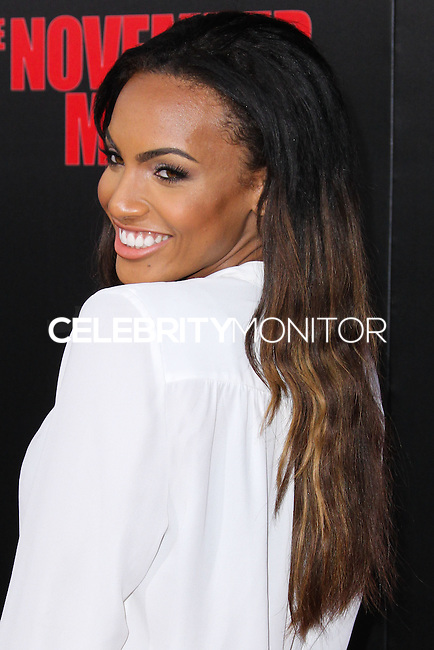 HOLLYWOOD, LOS ANGELES, CA, USA - AUGUST 13: Ciera Foster at the World Premiere Of Relativity Media's 'The November Man' held at the TCL Chinese Theatre on August 13, 2014 in Hollywood, Los Angeles, California, United States. (Photo by Xavier Collin/Celebrity Monitor)