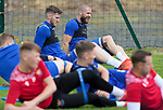 St Johnstone Pre-Season Training...28.06.21<br />Shaun Rooney pictured alongside Jamie McCart during the first day of pre-season training<br />Picture by Graeme Hart.<br />Copyright Perthshire Picture Agency<br />Tel: 01738 623350  Mobile: 07990 594431