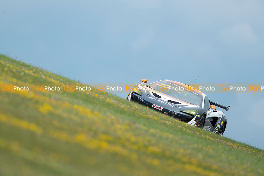Nick Halstead & Jamie Stanley, McLaren 570S GT4, Fox Motorsport finished on the podium in third during the British GT & F3 Championship on 11th July 2021