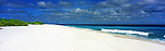 Kiribati Panorama - Beach on Kiritimati (Christmas Island), Kiribati<br /> <br /> Image taken on large format panoramic 6cm x 17cm transparency. Available for licencing and printing. email us at contact@widescenes.com for pricing.