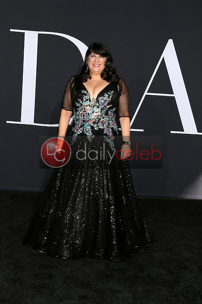 """E. L. James<br /> at the """"Fifty Shades Darker"""" World Premiere, The Theater at Ace Hotel, Los Angeles, CA 02-02-17<br /> David Edwards/DailyCeleb.com 818-249-4998"""
