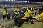 #4: Todd Gilliland, Kyle Busch Motorsports, Toyota Tundra Pedigree, makes a pit stop.
