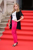 "Alix Wilton Regan<br /> arriving for the premiere of ""The Wife"" at Somerset House, London<br /> <br /> ©Ash Knotek  D3418  09/08/2018"