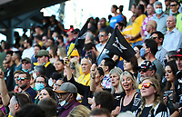 25th September 2021; Townsville, Gold Coast, Australia;  Fans and supporters show their colours. All Blacks versus Springboks. The Rugby Championship. 100th Rugby Union test match between New Zealand and South Africa.
