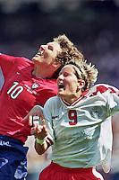 USA vs Denmark, June 19, 1999