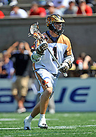 23 August 2008: Rochester Rattlers' Midfielder Joe Walters in action against the Philadelphia Barrage during the Semi-Finals of the Major League Lacrosse Championship Weekend at Harvard Stadium in Boston, MA. The Rattlers defeated the Barrage 16-15 in sudden death overtime, advancing to the upcoming Championship Game...Mandatory Photo Credit: Ed Wolfstein Photo
