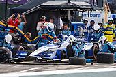 Verizon IndyCar Series<br /> Chevrolet Detroit Grand Prix Race 2<br /> Raceway at Belle Isle Park, Detroit, MI USA<br /> Sunday 4 June 2017<br /> Marco Andretti, Andretti Autosport with Yarrow Honda<br /> World Copyright: Jake Galstad <br /> LAT Images