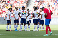 SANDY, UT - JUNE 10: The United States during a game between Costa Rica and USMNT at Rio Tinto Stadium on June 10, 2021 in Sandy, Utah.