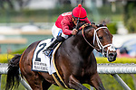 MAR 07: River Boyne with Abel Cedillo defeats Got Stormy with Tyler Gaffalione and Next Shares to win the Kilroe Mile at Santa Anita Park in Arcadia, California on March 7, 2020. Evers/Eclipse Sportswire/CSM