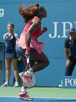 Serena Williams (USA) Defeats Galina Voskoboeva (KAZ) 6-3, 6-0