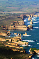 Aerial View of the Twelve Apostles, Victoria, Australia