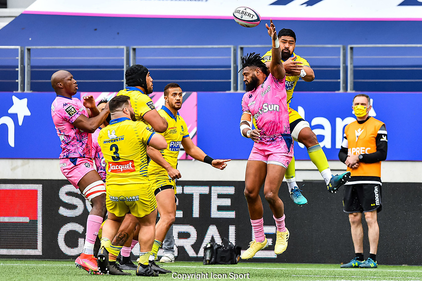 Waisea NAYACALEVU of Stade Francais during the French Top 14 rugby match between Stade Francais and Clermont at Stade Jean Bouin on March 27, 2021 in Paris, France. (Photo by Baptiste Fernandez/Icon Sport) - Waisea NAYACALEVU - Stade Jean Bouin - Paris (France)