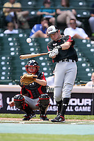 August 18 2008:  Jayce Boyd (23) of the Baseball Factory team during the 2008 Under Armour All-American Game at Wrigley Field in Chicago, IL.  Photo by:  Mike Janes/Four Seam Images