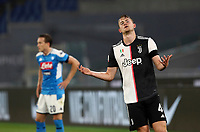 Juventus' Matthijs de Ligt reacts during the Italian Cup football final match between Napoli and Juventus at Rome's Olympic stadium, June 17, 2020. Napoli won 4-2 at the end of a penalty shootout following a scoreless draw.<br /> UPDATE IMAGES PRESS/Isabella Bonotto