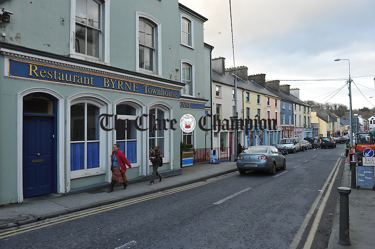Ennistymon. Photograph by John Kelly.