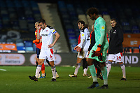 4th May 2021; Kenilworth Road, Luton, Bedfordshire, England; English Football League Championship Football, Luton Town versus Rotherham United; A dejected Richard Wood of Rotherham United after the 0-0 draw