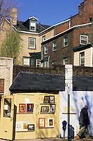 Amérique/Amérique du Nord/USA/Etats-Unis/Vallée du Delaware/Pennsylvanie/Philadelphie : Quartier des antiquaires sur Pine Street