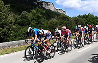 8th July 2021; Nimes, France; THEUNS Edward (BEL) of TREK - SEGAFREDO during stage 12 of the 108th edition of the 2021 Tour de France cycling race, a stage of 159,4 kms between Saint-Paul-Trois-Chateaux and Nimes.