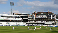 Blue skies above The Oval as the weather improves in the last session during Surrey CCC vs Somerset CCC, LV Insurance County Championship Group 2 Cricket at the Kia Oval on 13th July 2021