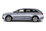 Car driver side profile view of a 2018 Audi A6 Avant Business Edition 5 Door Wagon