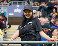 11th October 2020; Sky Stadium, Wellington, New Zealand;  Fans. Bledisloe Cup rugby union test match between the New Zealand All Blacks and Australia Wallabies.
