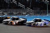 #4: Todd Gilliland, Kyle Busch Motorsports, Toyota Tundra JBL/SiriusXM and #16: Austin Hill, Hattori Racing Enterprises, Toyota Tundra AISIN Group