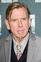 """Timothy Spall<br /> arriving for the London Film Festival 2017 screening of """"The Party"""" at Embankment Gardens Cinema, London<br /> <br /> <br /> ©Ash Knotek  D3330  10/10/2017"""