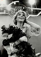 Miss Teen Canada - Julie Simoneau of Quebec city; <br /> <br /> 1978<br /> <br /> PHOTO :  Dick Loeb - Toronto Star Archives - AQP