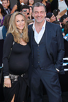"""WESTWOOD, LOS ANGELES, CA, USA - MARCH 18: Ray Stevenson, Elisabetta Caraccia at the World Premiere Of Summit Entertainment's """"Divergent"""" held at the Regency Bruin Theatre on March 18, 2014 in Westwood, Los Angeles, California, United States. (Photo by Xavier Collin/Celebrity Monitor)"""