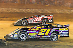 Sep 12, 2010; 12:05:00 AM; Rossburg, OH., USA; The 40th annual running of the World 100 Dirt Late Models racing for the Globe trophy at the Eldora Speedway.  Mandatory Credit: (thesportswire.net)